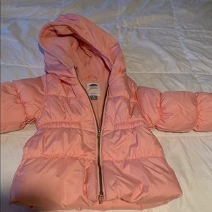 Old navy puffer jacket!
